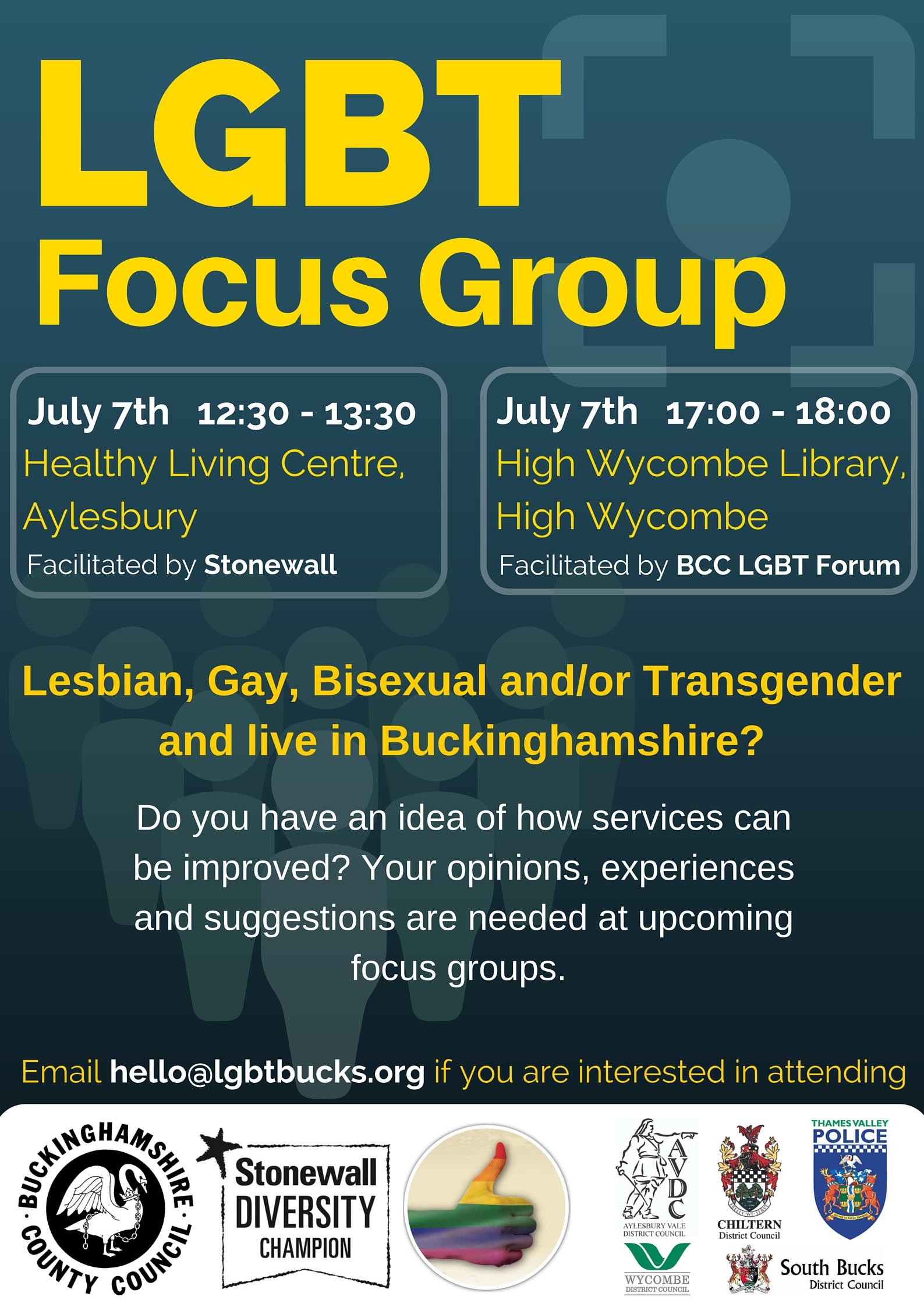focus group flyer